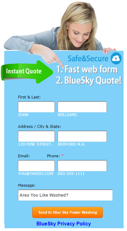 Get Blue Sky Quote
